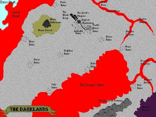 Map of the Darklands