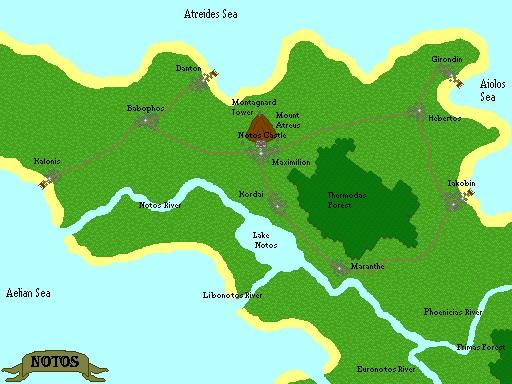 Map of Notos